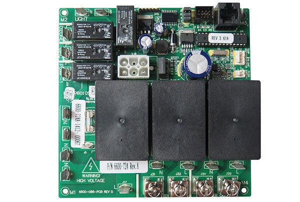 Jacuzzi, Sundance Spas - Circuit Board PCB: LED, 1-PUMP, JHT/SD 2014 - 6600-724