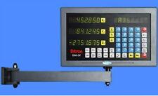 "DRO Display 3-axis w/ 16"" scale USA -2yr warranty programmable"