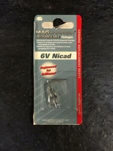 MagCharger rechargeable halogène 6 V NiCd LR0001