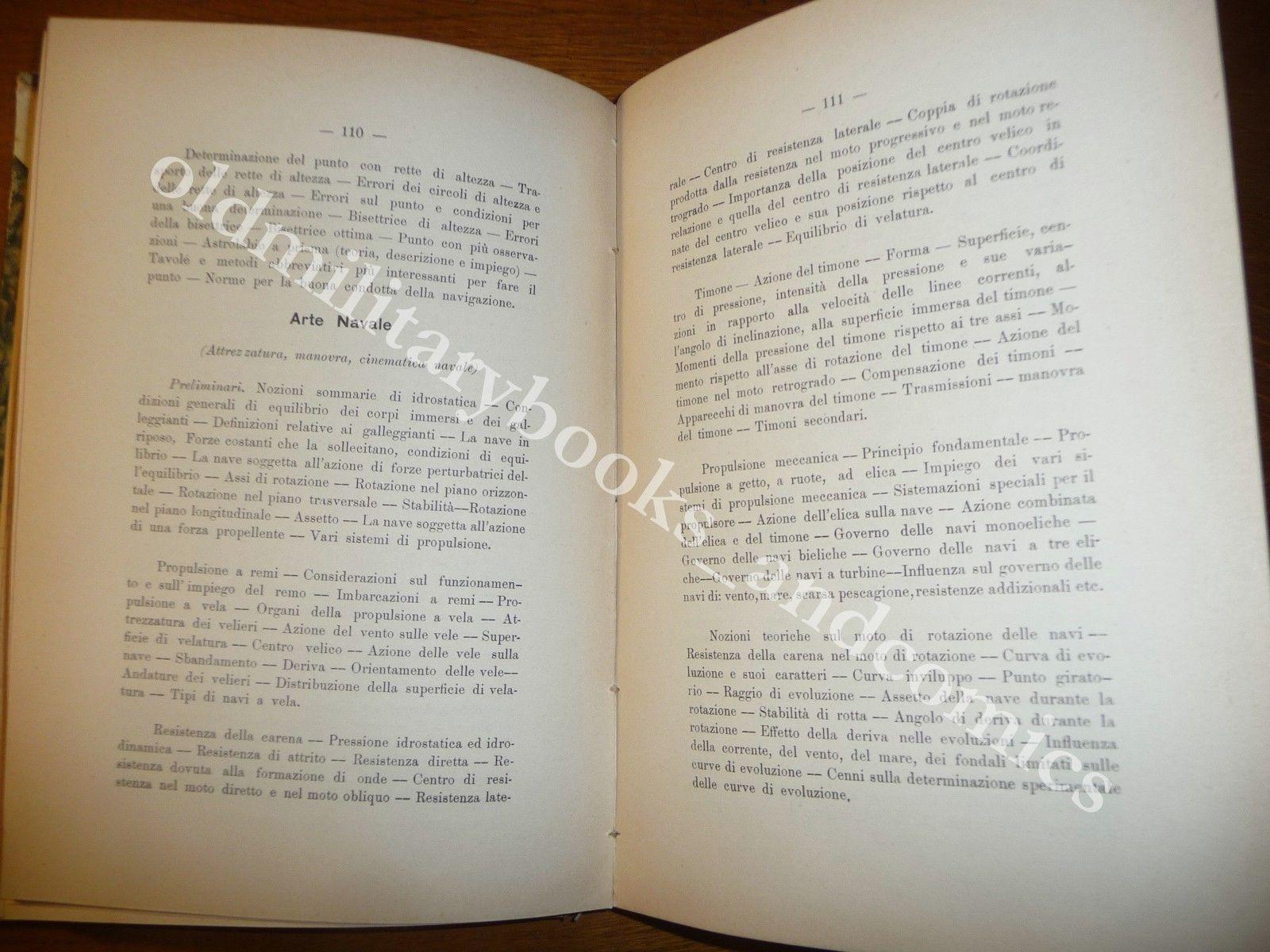 ANNUARIO DEL R. ISTITUTO SUPERIORE NAVALE NAPOLI ANNO ACCADEMICO 1926-27