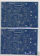 2pcs Class A dynamic Biasing 80W Audio Power Amplifier PCB Quad 405