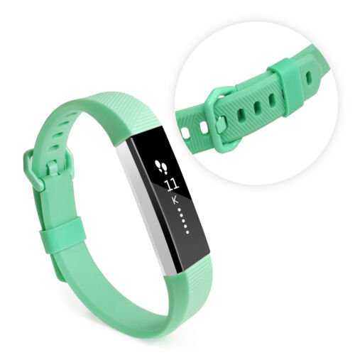 TUFF Luv Silicona correa muñequera para FITBIT alta//alta HR-Verde claro