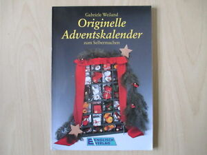 Gabriele Weiland Originelle Adventskalender Zum Selbermachen