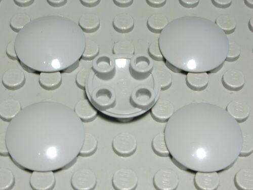 LEGO couvercle planeur en rond 2x2 New Gris 5 pièce 1877
