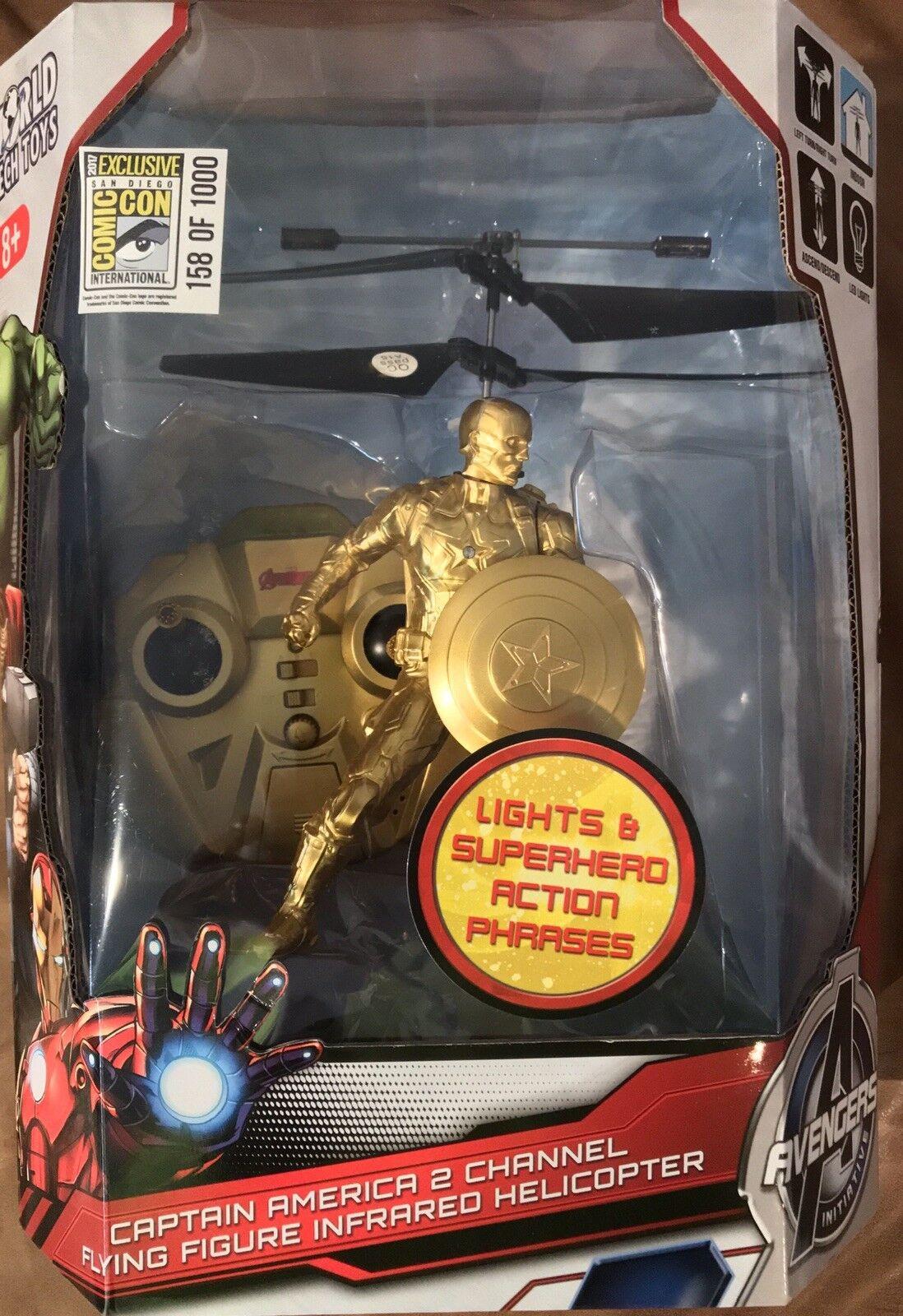 Comic - con ccsd exklusive 17 marvel - 158   1000 captain america - hubschrauber