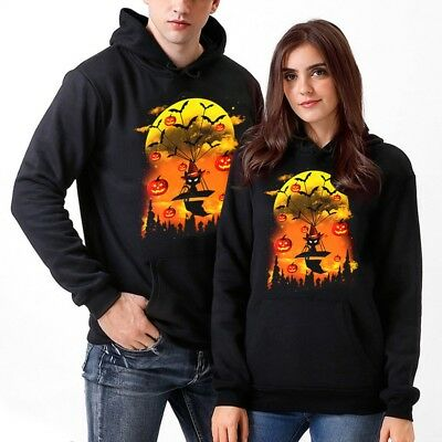 Mens Pullover Hoodie,Warm England Halloween Pumpkin Cotton Blouse Tops for Mens