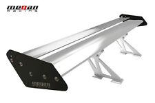 Universal Megan Racing Aluminum GT Trunk Spoiler Wing Black & Silver MR-AS-GT56
