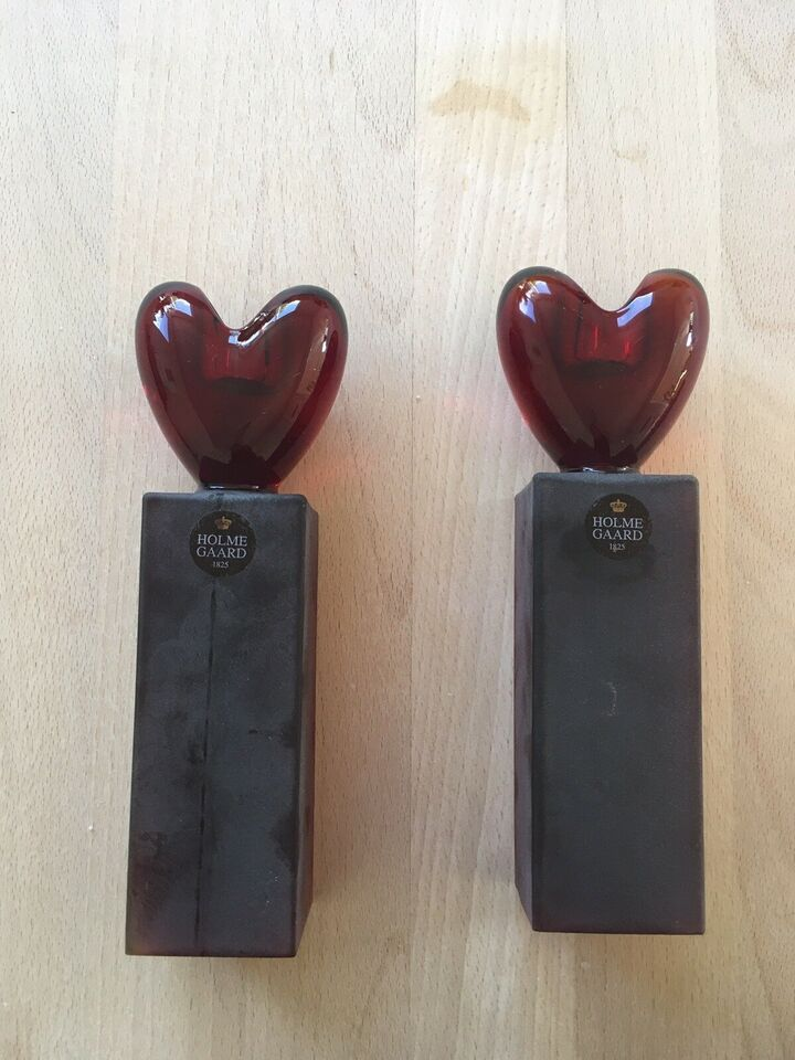 Holmegaard hjerteslaget, stor, Holmegaard