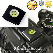 Camera Universal bubble/Spirit Level NIKON CANON dsrl  Flash Hot Shoe Protector
