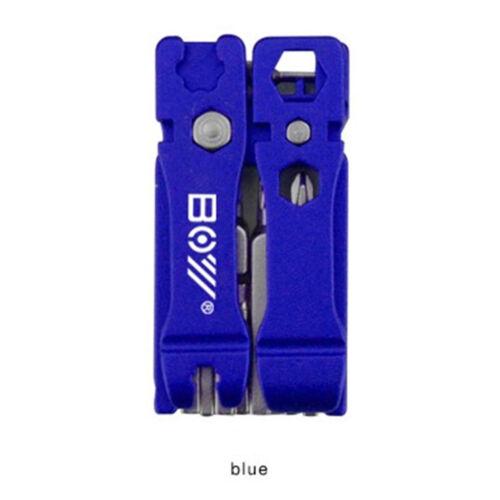 19 in 1Hex Key Screwdriver Wrench Bicycle Bike Tools Multi Repair Tool Kit WD