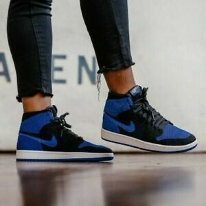 nike air jordan 1 bleu et noir