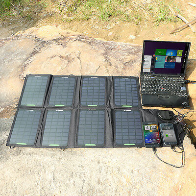 ALLPOWERS 18V 28W Portable Solar Panel Charger Pack For Laptop Tablets Galaxy S6