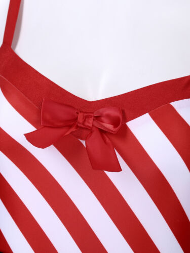 Christmas Women Miss Santa Claus Cosplay Costume Party Outfit Belt Fancy Dress