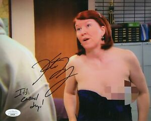 Kate-Flanery-Autograph-Signed-8x10-Photo-The-Office-034-Meredith-034-JSA-COA