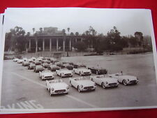 1953 CHEVROLET CORVETTE  ROSE BOWL PRESS PARTY  11 X 17  PHOTO  PICTURE
