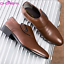 Men-039-s-Oxfords-Leather-Shoes-Pointed-Toe-Wedding-Formal-Office-Casual-Loafers-New thumbnail 9