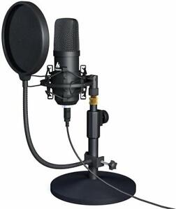USB-Microphone-Kit-192KHZ-24BIT-MAONO-AU-A04T-PC-Condenser-Podcast-Streaming-Car