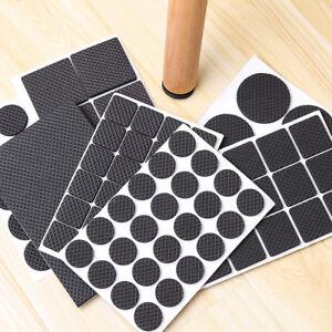 Image Is Loading Black Soft Furniture Floor Protect Rubber Pads Felt