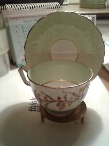 Aynsley-Fine-Bone-China-Made-in-England-Cup-and-Saucer-Rare