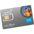 BlueCosmo Inmarsat IsatPhone 50 Unit Prepaid SIM Card for Pro and ISAT