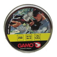 Gamo Magnum Spire Point Double Ring Per 250 .22 Caliber 632022554 on sale