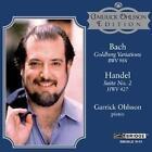 Goldberg Variations/Suite 2,HWV 427 von Garrick Ohlsson (2010)