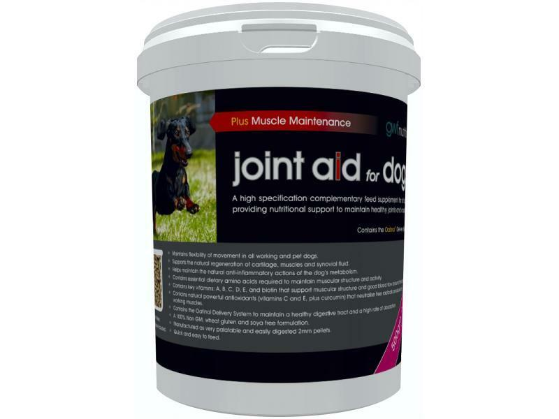 GWF JOINT AID FOR DOGS + MUSCLE MAINTENANCE 500G HEALTHY JOINTS AND MUSCLES