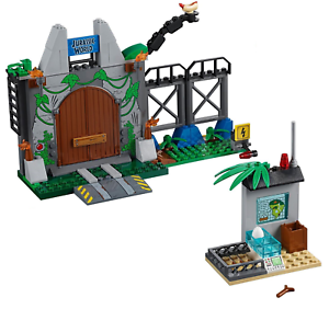 LEGO Jurassic World 10758 T.Rex Breakout Minifigures Box Dinosaur Not Included