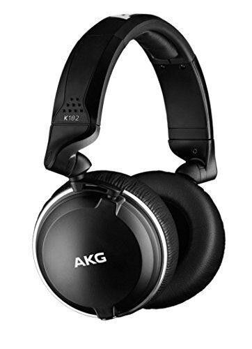 AKG Pro K182 Closed-Back Akustik Kopfhörer w 3D-Achse professionelle Faltung