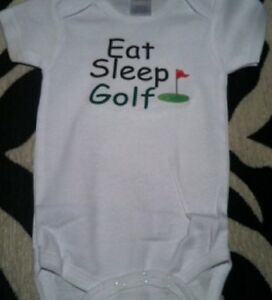 Funny Golf Baby Clothes Future Golfer Golf Baby Shirt Golf Baby