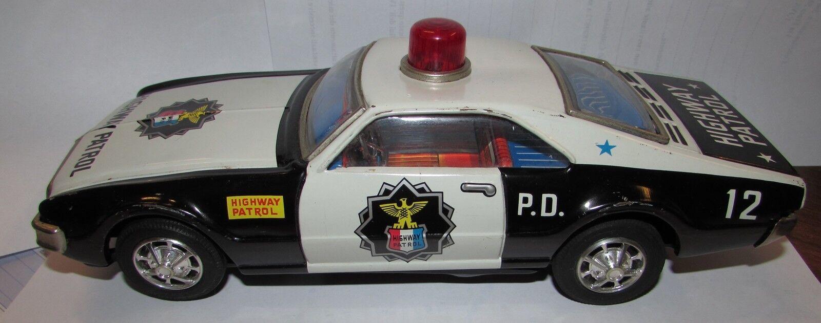 prezzi eccellenti Highway patrol polizia tin giocattolo auto auto auto  costo effettivo