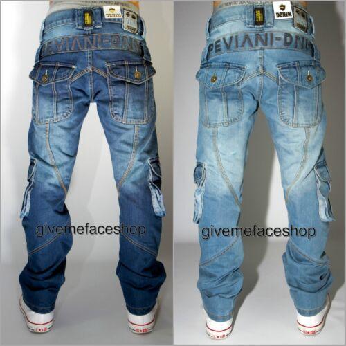 time is money hip hop urban Peviani cargo g bar jeans combat rock star mens