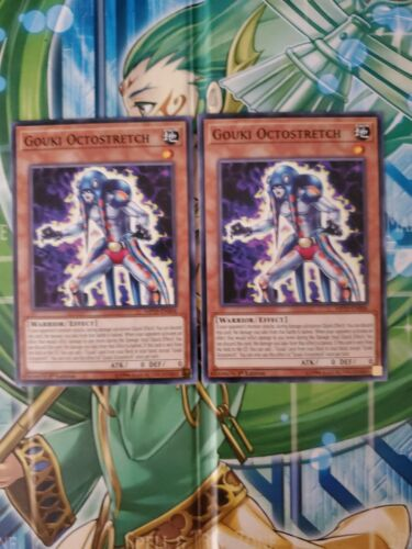 2X Gouki Octostretch MP19-EN006 Common 1ST Edition NM yugioh!