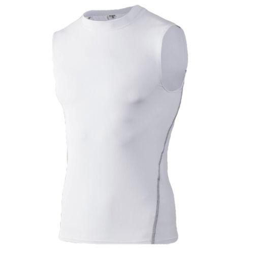 Hommes Classique sans manches T-Shirt Fitness Running Sport Séchage Rapide Athlétique Tops