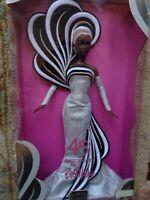 Mattel 45th Aa Anniversary Barbie-by Bob Mackie-rare Limited Edition-nrfb