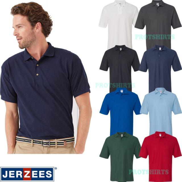Jerzees 537MSR Mens Easy Care Polo