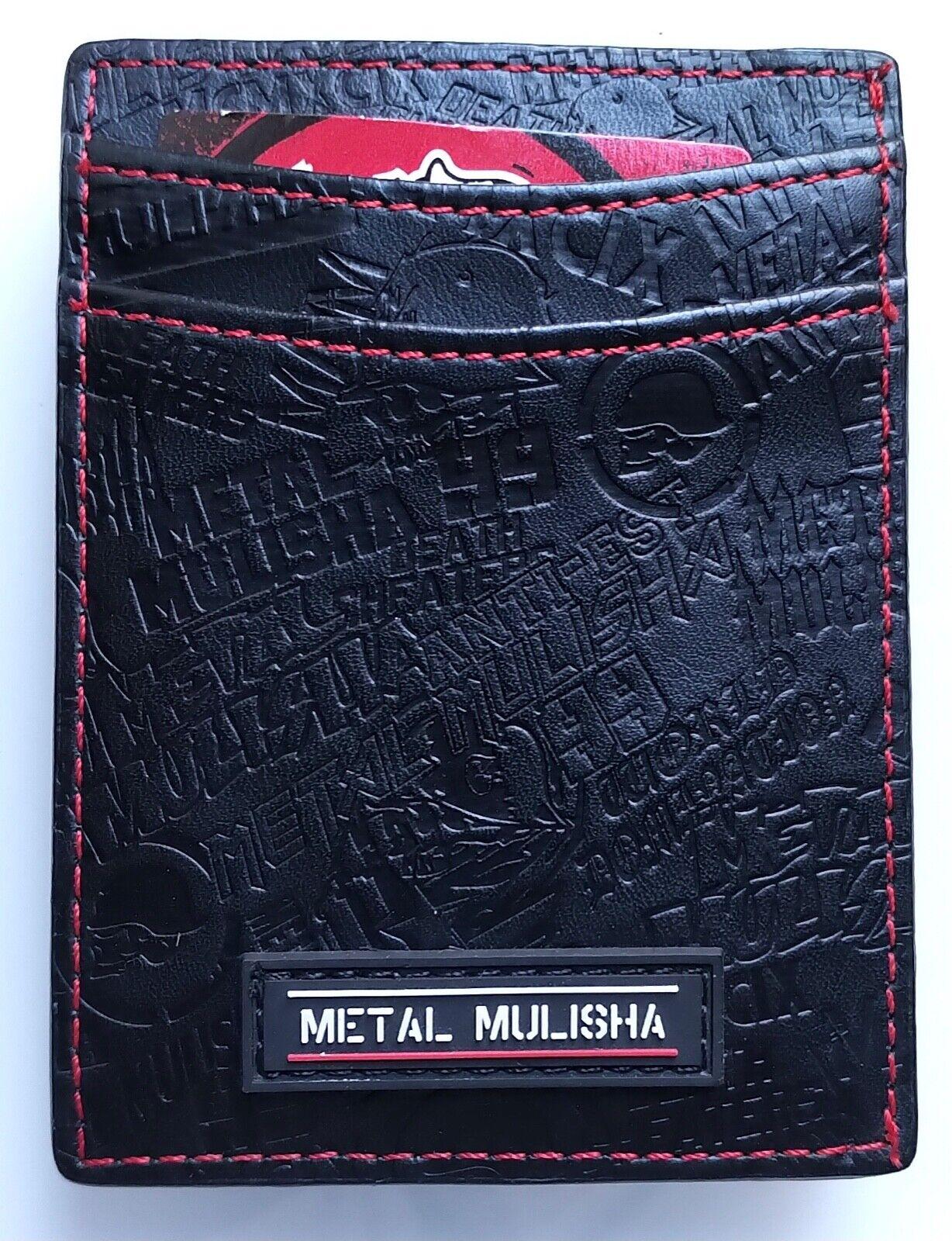Metal Mulisha Drink Up Wallet, Black