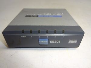 CISCO SYSTEMS LINKSYS SD205 ETHERNET SWITCH 5PORT 10/100