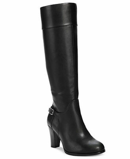 Giani Bernini boelyn Alto botas De Montar M Negro Mujer