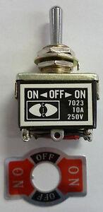 MRC DPDT Reversing Toggle Switch #3W New