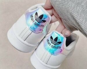 pas mal 148c0 0810c Adidas Originals Stan Smith Iridescent Hologram Mirror ...
