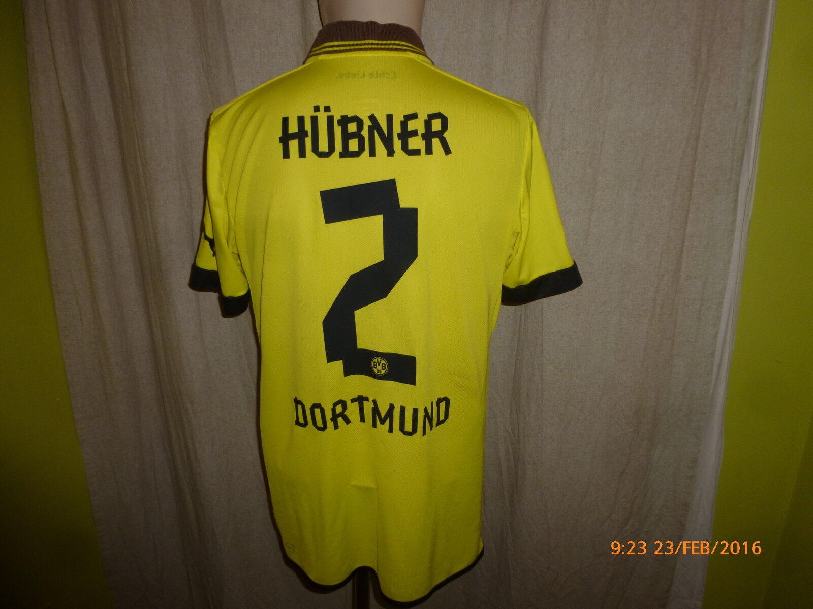 Borussia Dortmund Dortmund Dortmund Puma U23 Matchworn Trikot 2012 13  EVONIK  + Nr.2 Hübner Gr.L  | Ausgezeichnete Leistung  168d78