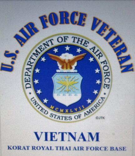 VIETNAM U-10D COURIER* U.S.AIR FORCE VETERAN W// AIR FORCE EMBLEM* SHIRT