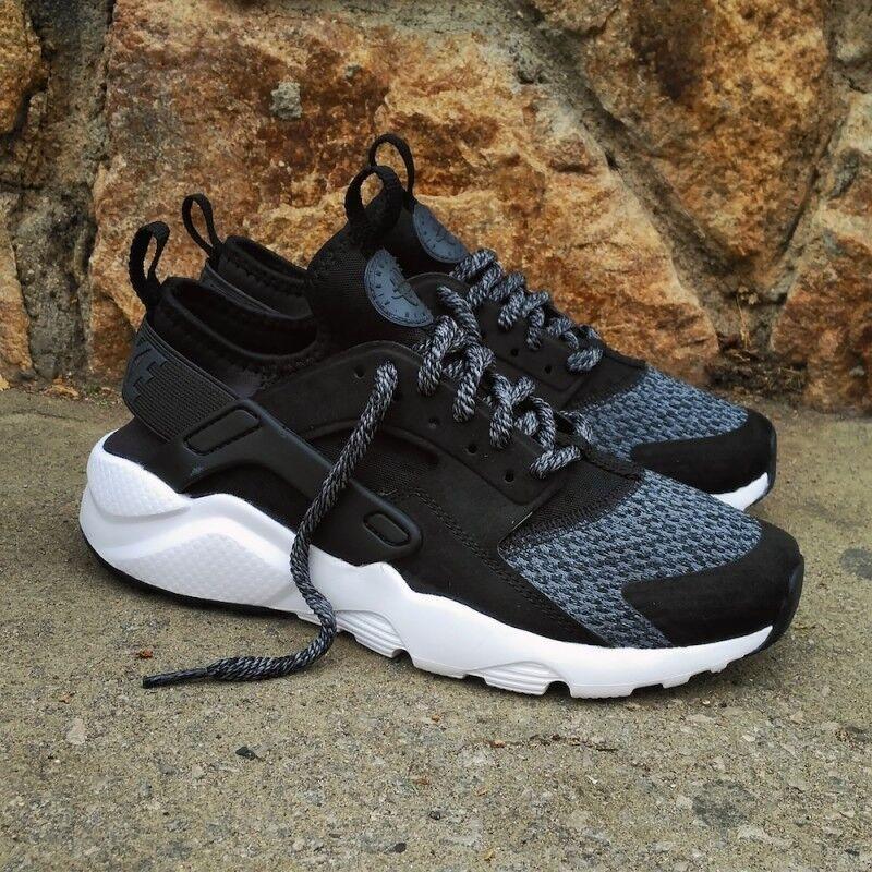 Nike Air Huarache Run Ultra SE GS Trainers Chaussures 942121 004 Noir