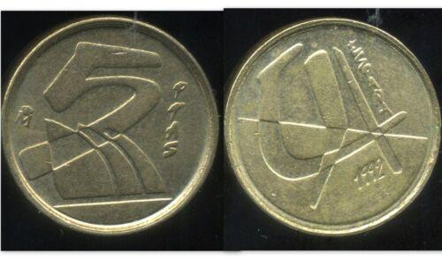 etat SPAIN  ESPAGNE  5  pesetas   1992