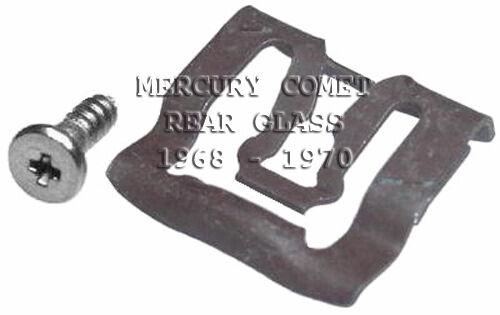 FITS IMPALA 67 68 69 70 WINDSHIELD /& REAR GLASS MLDG CLIPS 47