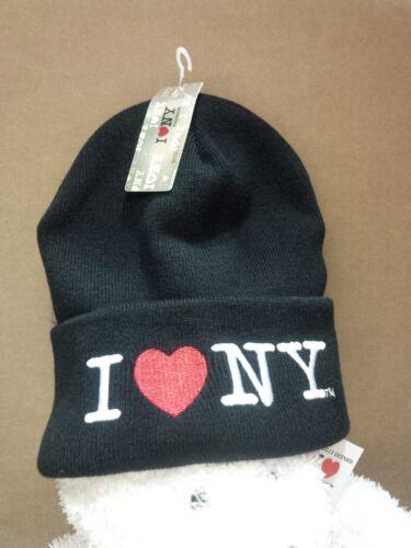 I LOVE NY HEART NEW YORK WINTER ADULT HAT