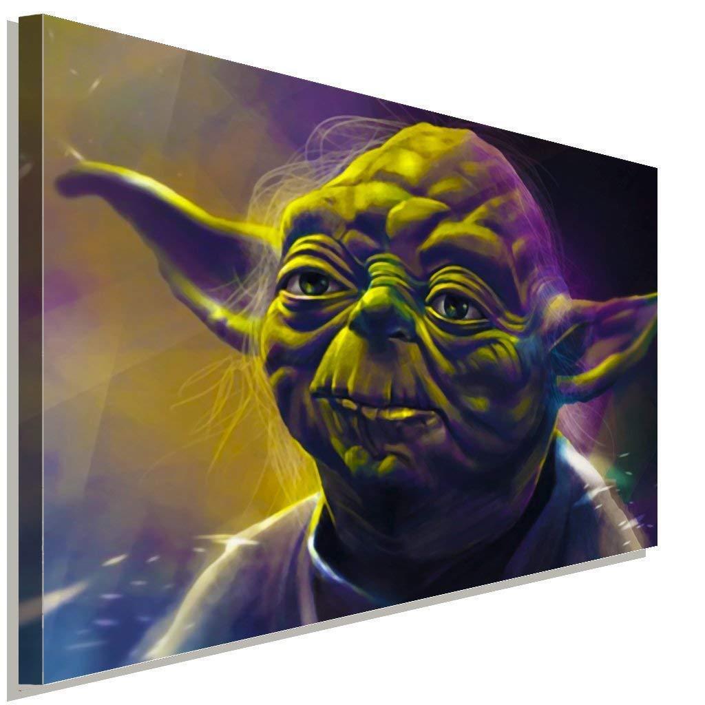 Star Wars Master Yoda Leinwandbild AK Art BilderWanddeko Wandbild TOP FANART