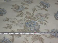 « mottisfont Azul Sepia, Baker estilo de vida de lino / algodón tela de la decoración 2.2 Mt