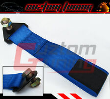 FORD MUSTANG THUNDERBIRD FOCUS TRUCK FIASTA FUSION BUMPER TOW HOOK STRAP BLUE